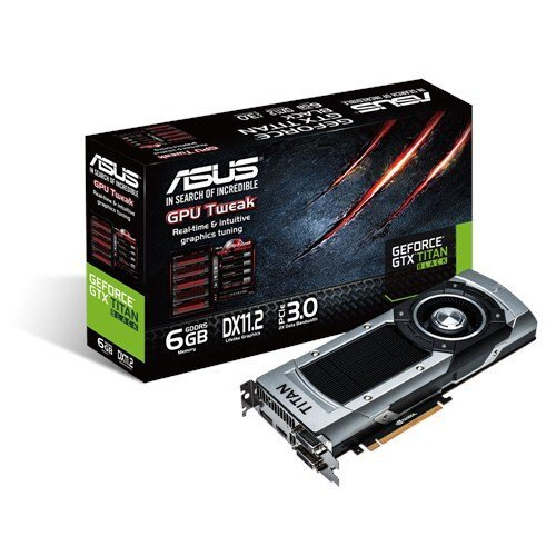 ASUS GeForce GTX Titan Black Graphics Card