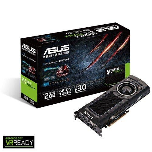 ASUS GeForce GTX TITAN X Graphics Card
