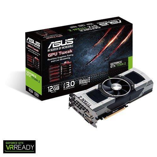 ASUS GeForce GTX Titan Z Graphics Card