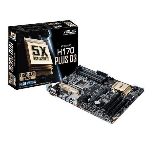 ASUS H170-PLUS D3 Motherboard