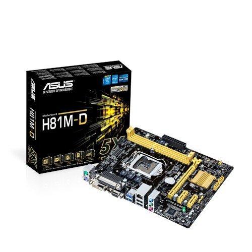 ASUS H81M-D Motherboard