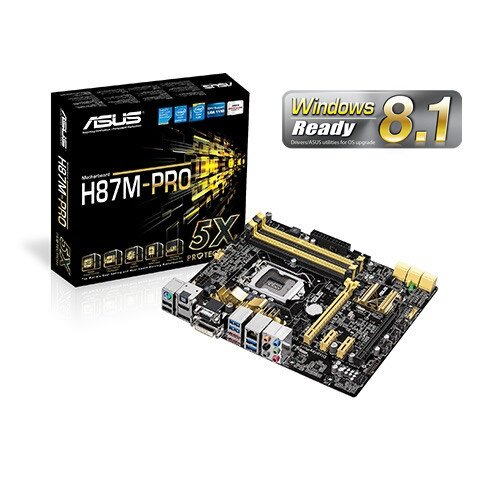 ASUS H87M-Pro Motherboard