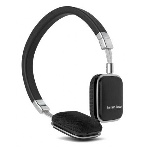 Harman Kardon Soho-I On-Ear Headphones - Black