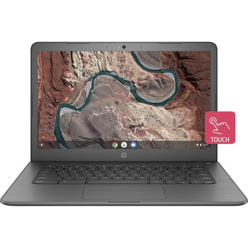 """HP 14"""" 32GB Multi-Touch Chromebook 14 - Ink Blue"""