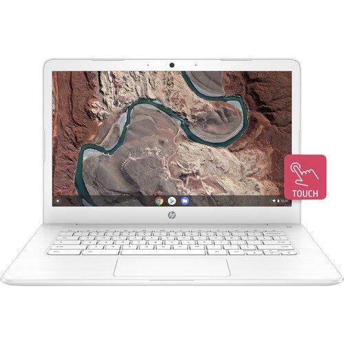 "HP 14"" 32GB Multi-Touch Chromebook 14 - Snow White"