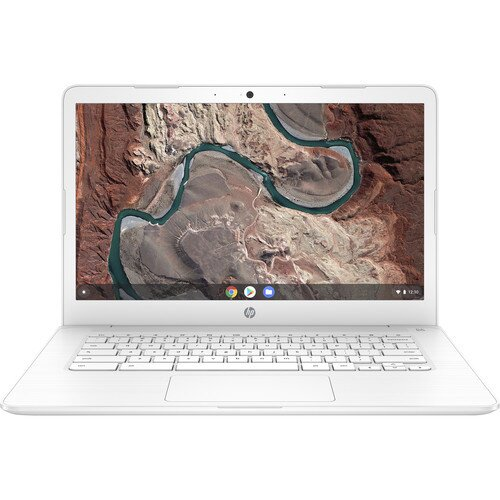 "HP 32GB Chromebook 14 - 14"" 1366 x 768 HD Display - Snow White"