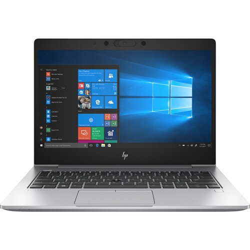 """HP 13.3"""" EliteBook 830 G6 Notebook PC - 8th Gen Intel Core i5-8265U - 256 GB NVMe PCIe M.2 SSD"""