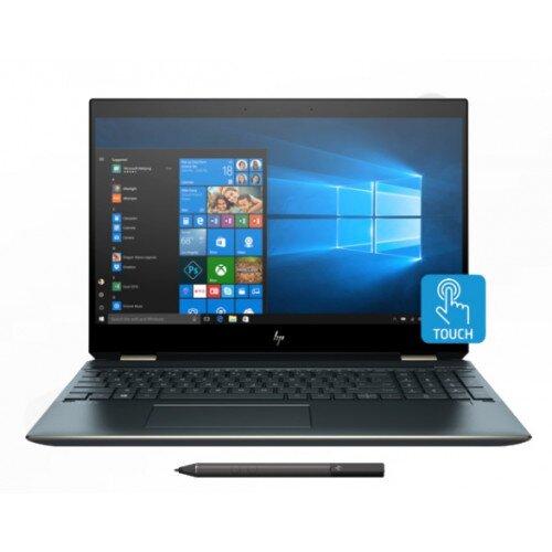 HP Spectre x360 Laptop - 15t Touch - 10th Gen Intel Core i7-10510U - 16GB DDR4 - NVIDIA GeForce MX250 - Poseidon Blue