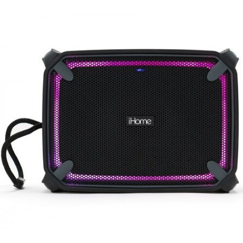 iHome iBT374 Weather Tough Speaker, Bluetooth + USB Charging