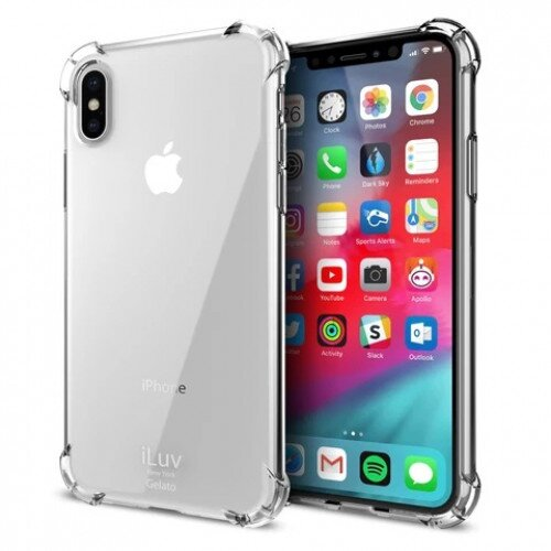 iLuv Gelato Case for iPhone XR - Clear