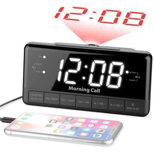 iLuv Morning Call 3 Projection Dual Alarm Clock