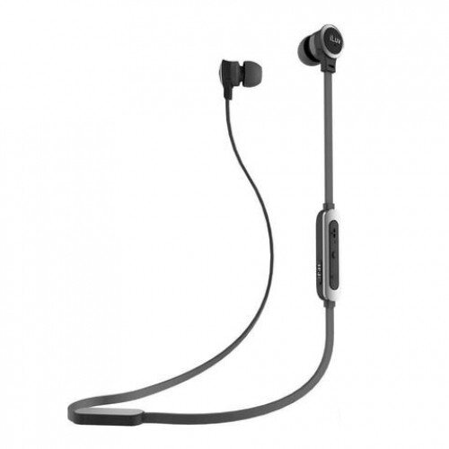 iLuv Neon Sound Air In-Ear Wireless Headphones - Black