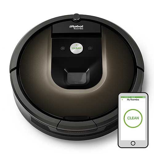 iRobot Roomba 980 Wi-Fi Connected Robot Vacuum