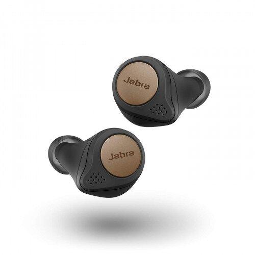 Jabra Elite Active 75t True Wireless Earbuds - Copper Black