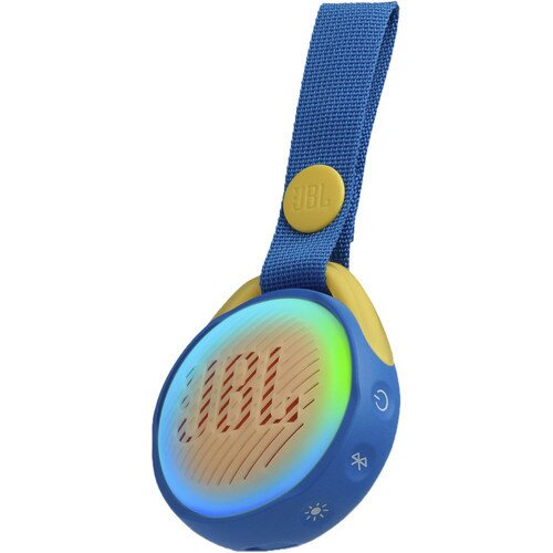 JBL JR POP Portable Bluetooth Speaker - Cool Blue