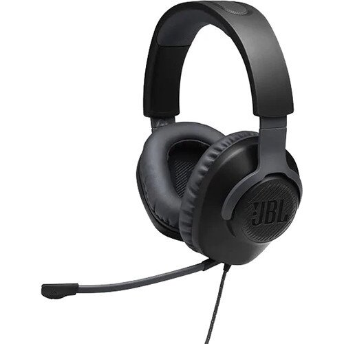 JBL Quantum 100 Over-Ear Wired Gaming Headset - Black