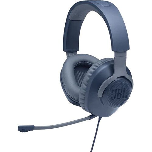 JBL Quantum 100 Over-Ear Wired Gaming Headset - Blue