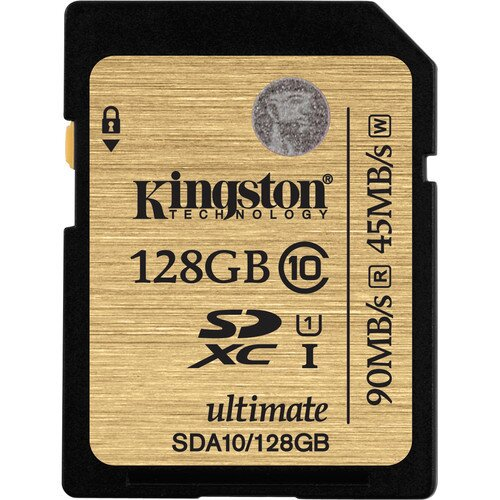 Kingston Class 10 UHS-I SDHC/SDXC - 128GB
