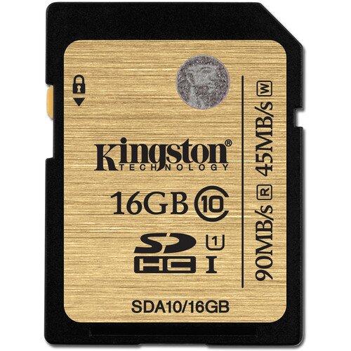 Kingston Class 10 UHS-I SDHC/SDXC - 16GB