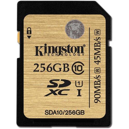 Kingston Class 10 UHS-I SDHC/SDXC - 256GB