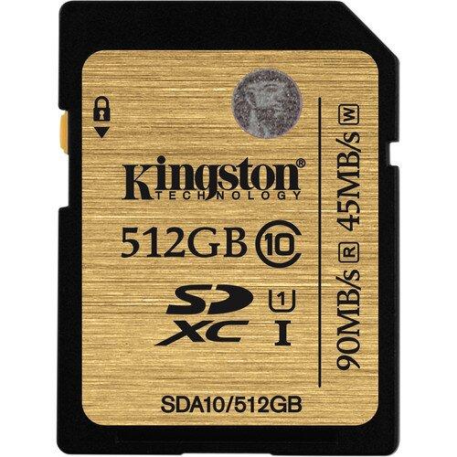 Kingston Class 10 UHS-I SDHC/SDXC - 512GB