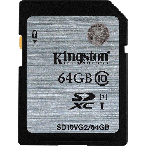 Kingston Class 10 UHS-I SDHC/SDXC - 64GB