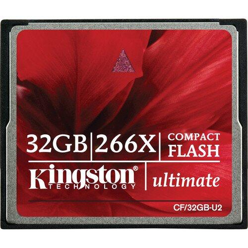 Kingston CompactFlash Ultimate 266x - 32GB
