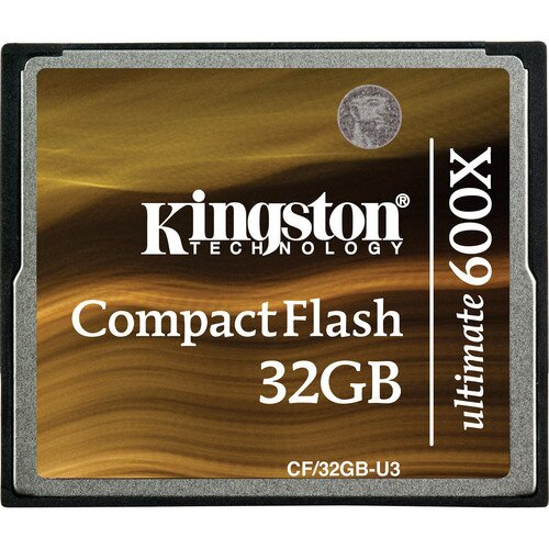Kingston CompactFlash Ultimate 600x - 32GB