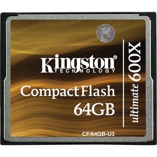 Kingston CompactFlash Ultimate 600x - 64GB