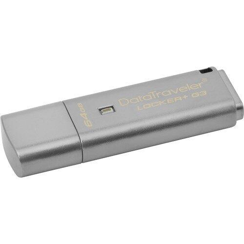 Kingston DataTraveler Locker+ G3 - 64GB