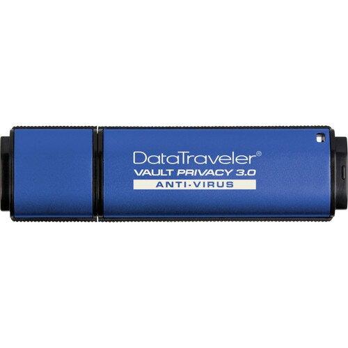 Kingston DataTraveler Vault Privacy 3.0 with Anti-Virus - 8GB