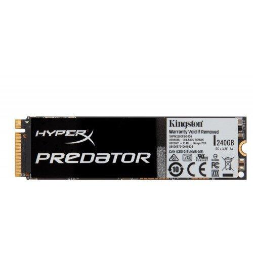 Kingston HyperX Predator PCIe SSD - 240GB