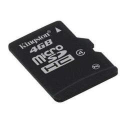 Kingston MicroSDHC Card - Class 4 - 4GB