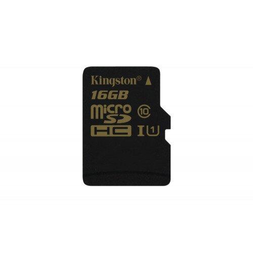Kingston MicroSDHC/SDXC Card - Class 10 UHS-I - 16GB
