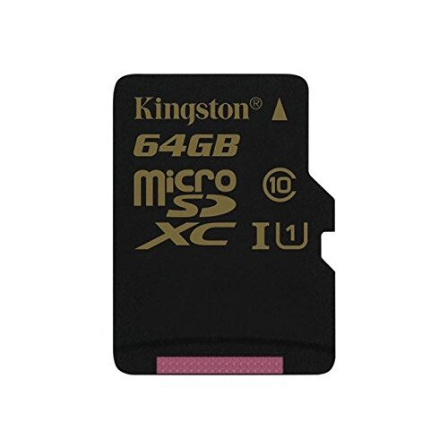 Kingston MicroSDHC/SDXC Card - Class 10 UHS-I - 64GB