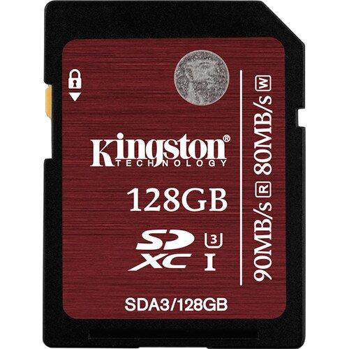 Kingston SDHC/SDXC UHS-I U3 - 128GB