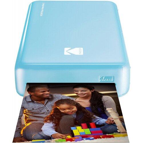 Kodak Mini 2 Instant Photo Printer - Blue