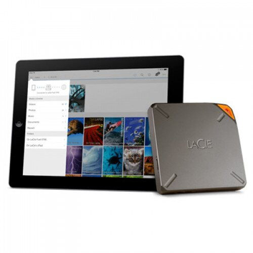 LaCie FUEL External Hard Drive