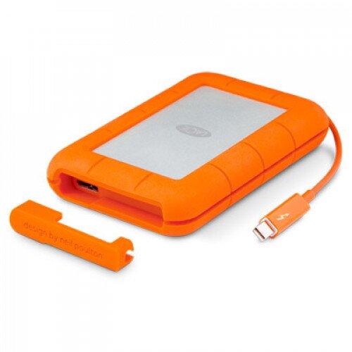 LaCie Rugged Thunderbolt External Hard Drive - 500GB (SSD)