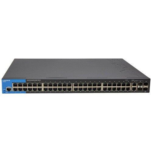 Linksys 48-Port Gigabit Managed Switch with 2 SFP Combo Ports + 2 SFP+ Ports