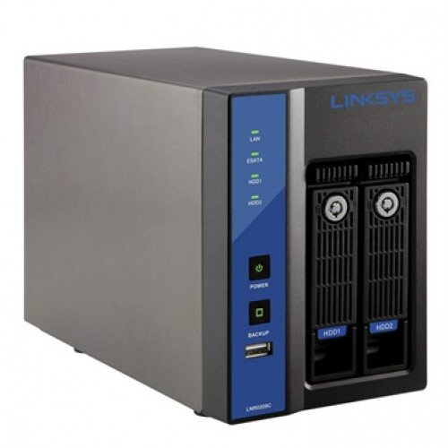 Linksys Network Video Recorder (NVR) 2-Bay for Business