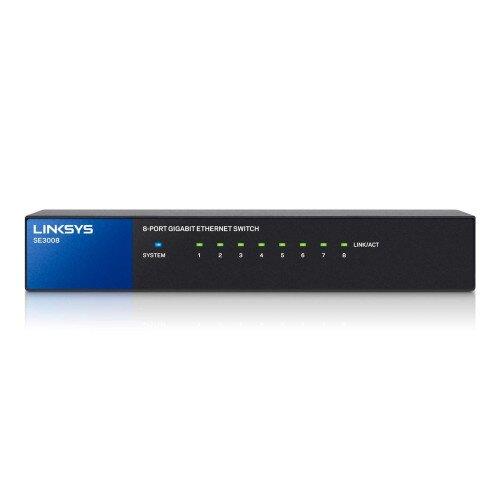 Linksys 8-Port Gigabit Ethernet Switch