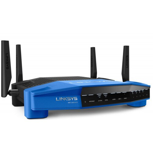 Linksys Dual-Band Wi-Fi Router with Ultra-Fast 1.6 GHz CPU