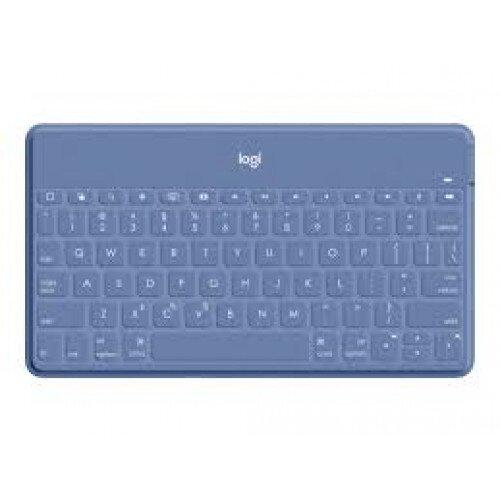 Logitech Keys-To-Go Ultra-Portable, Stand-Alone keyboard - iOS - Smoky Blue