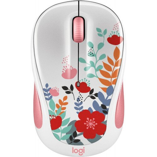 Logitech M325C Color Collection Wireless Mouse - Summer Bouquet