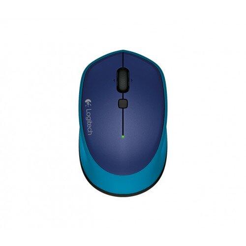 Logitech M335 Wireless Mouse - Blue