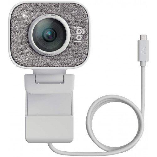 Logitech StreamCam Full HD Streaming Webcam - White