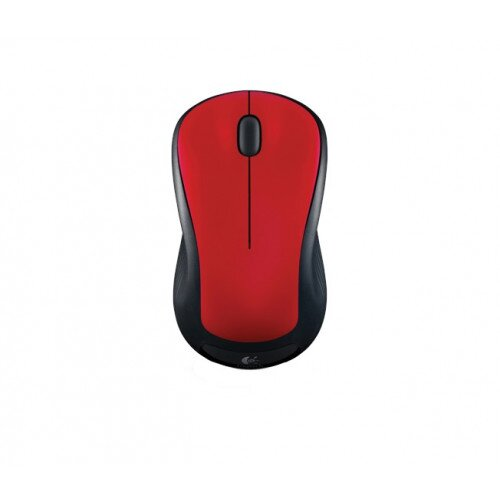 Logitech Wireless Mouse M310 - Flame Red Gloss