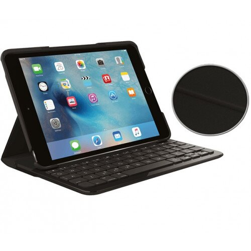 Logitech Focus Protective Case with Integrated keyboard - Black