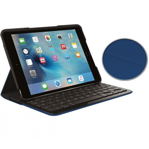 Logitech Focus Protective Case with Integrated keyboard - Dark Blue